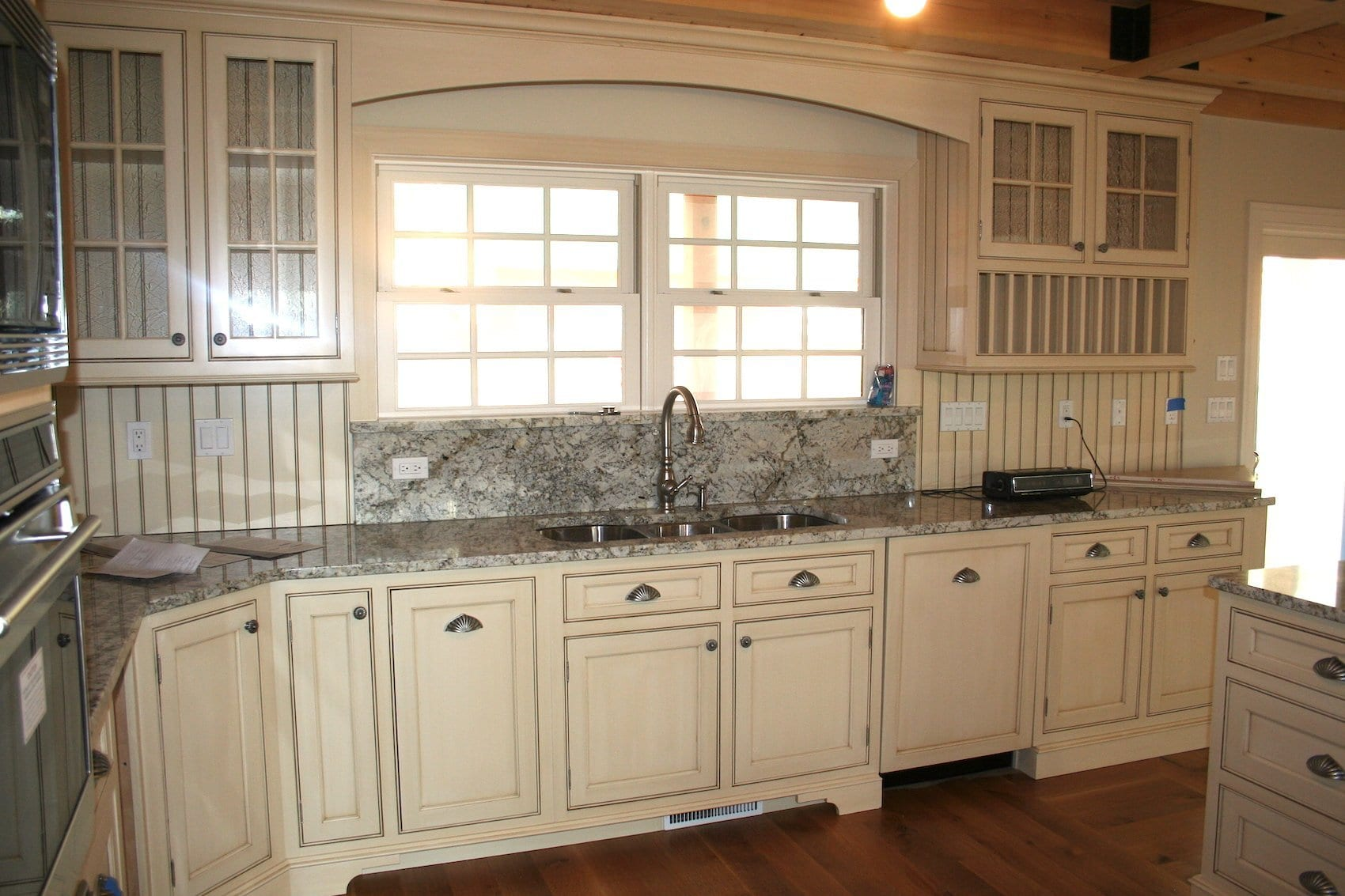 John Dean Custom Cabinetry Off White Beaded Inset Kitchen Dean