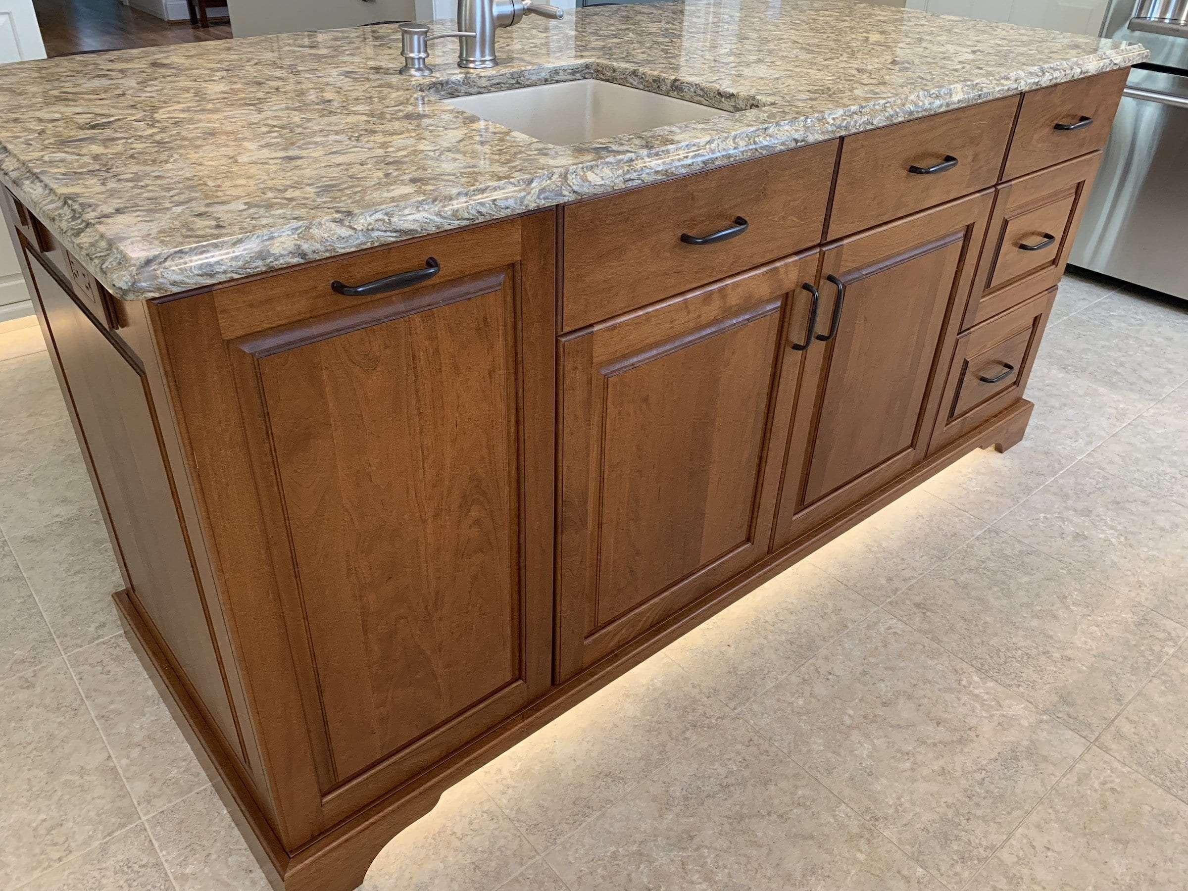 John Dean Custom Cabinetry White Full Access Full Overlay